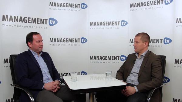 Marek Grufík v Management tv: Pomocí aplikace učíme finance chápat i dlouhodobě řídit