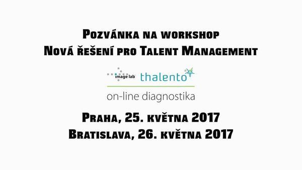 """Zveme vás na půldenní workshop """"Nová řešení pro Talent Management"""" s Benem Greevenem"""