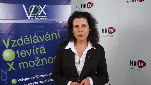 Profil Radky Loja - lektorky společnosti 1. VOX