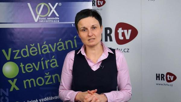 Profil Michaely Loosové - lektorky anglického a německého jazyka společnosti VOX